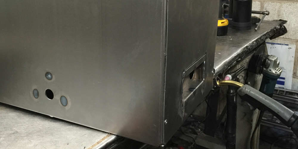 Stage Four - Welding