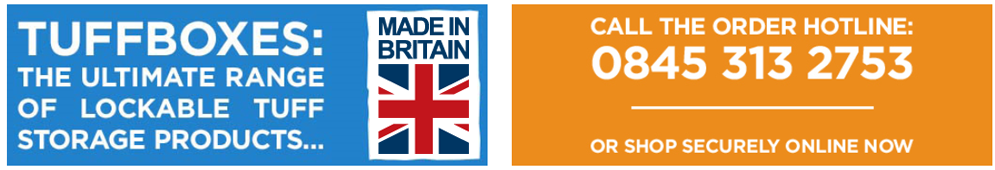 Every Tuffbox purchased supports British manufacturing.